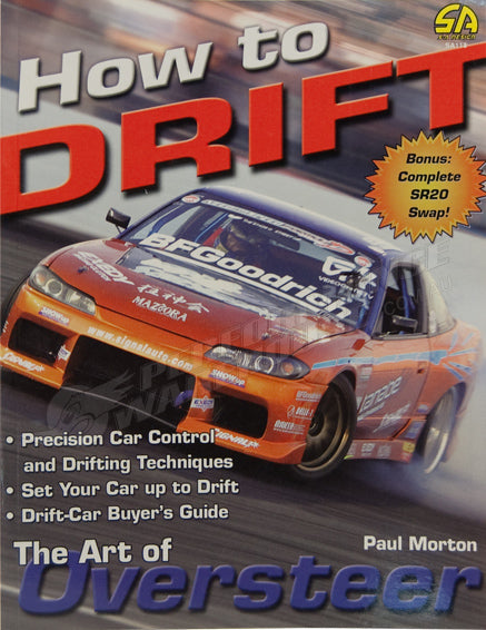 SA BOOK HOW TO DRIFT: THE ART OF OVERSTEER #SA118