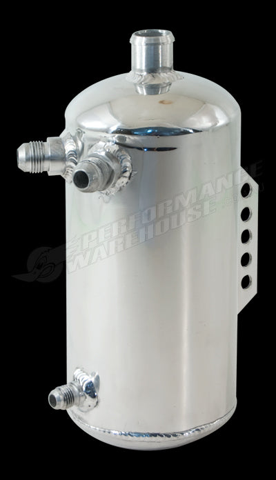 CAL CUSTOM 2 LITRE ROUND WATER TANK POLISHED ALUMINIUM