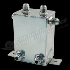 CAL CUSTOM 1 LITRE RECTANGULAR SURGE TANK POLISHED ALUMINIUM