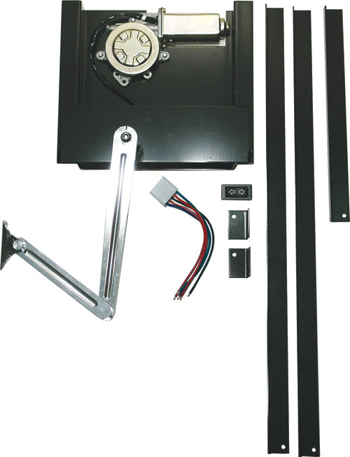 CAL CUSTOM POWER TRUNK/BOOT LIFT KIT WITH ALUMINIUM ARM, HOT ROD, FORD, CHEVY, PLYMOUTH