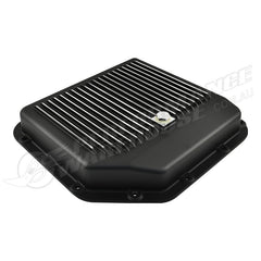 TH350 AUTOMATIC TRANSMISSION PAN BLACK FINNED ALUMINIUM