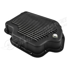 TH400 AUTOMATIC TRANSMISSION PAN BLACK FINNED ALUMINIUM
