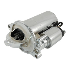 CAL CUSTOM STARTER MOTOR EARLY FORD WINDSOR (PRE '86) & CLEVELAND HIGH TORQUE 2.4 HP CHROME