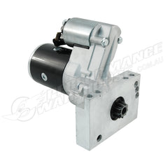 CAL CUSTOM BLACK MINI STARTER MOTOR CHEV SMALL BLOCK & BIG BLOCK 1.9HP, BBC, SBC