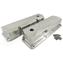 FABRICATED ALUMINIUM FORD 351C TALL VALVE COVERS, SHORT BOLT STYLE