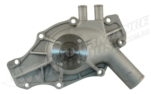 CAL CUSTOM HOLDEN VH-VS 253 308 LATE NATURAL FINISH ALUMINIUM WATER PUMP
