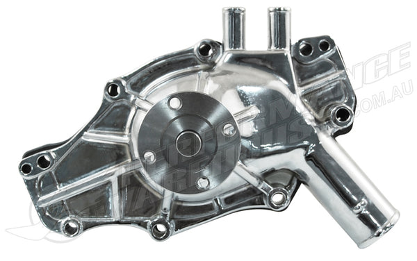 CAL CUSTOM HOLDEN HT-VH 253 308 EARLY CHROMED ALUMINIUM WATER PUMP