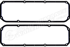 CAL CUSTOM FORD CLEVELAND 302 351 VALVE COVER GASKETS RUBBER WITH STEEL CORE