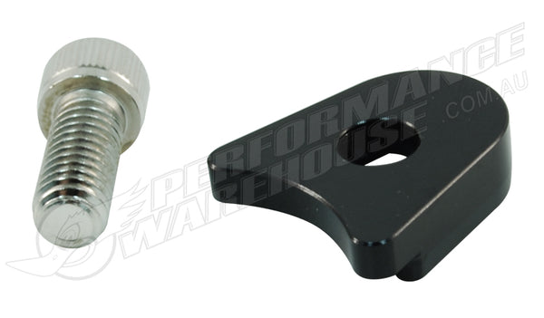 CAL CUSTOM FORD WINDSOR/CLEVELAND DISTRIBUTOR HOLD DOWN CLAMP BLACK BILLET ALUMINIUM