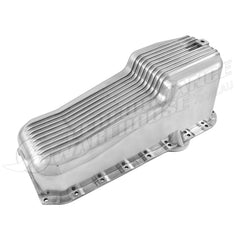 SB CHEV 1980-84 POLISHED FINNED ALUMINIUM OIL PAN