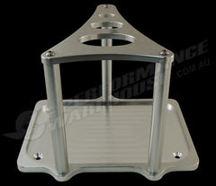 BILLET ALUMINIUM OPTIMA BATTERY TRAY GROUP 34 78 CLEAR ANODISED TOP