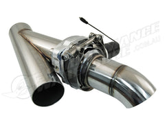 "STAINLESS STEEL 3"" ELECTRIC EXHAUST CUT-OUT KIT WITH REMOTE CHEV FORD HOLDEN"