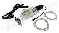 "3"" ELECTRIC EXHAUST CUT-OUT MOTOR WITH SWITCH CHEV FORD HOLDEN"