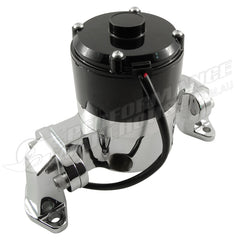 CALFLOW SMALL BLOCK CHEV PERFORMANCE ELECTRIC WATER PUMP 35GPM - CHROME