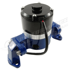 CALFLOW SMALL BLOCK CHEV PERFORMANCE ELECTRIC WATER PUMP 35GPM - BLUE