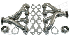 CAL CUSTOM BIG BLOCK CHEV TIGHT FIT HEADERS STAINLESS STEEL - STD DECK BBC