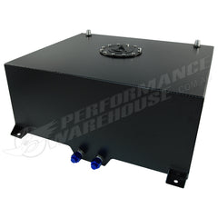 80 LITRE / 20 GALLON FUEL CELL BLACK POWDER COATED ALUMINIUM