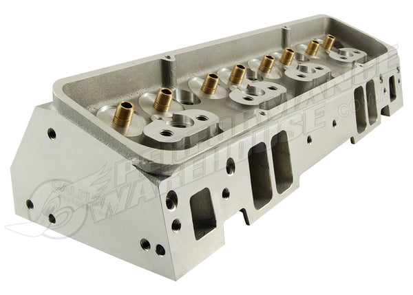SBC SMALL BLOCK CHEV BARE ALLOY CYLINDER HEADS 200CC/64CC - STRAIGHT PLUG