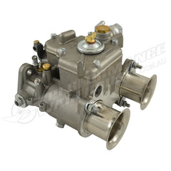 40 DCOE WEBER STYLE CARBURETTOR WITH CHROME RAM TUBES