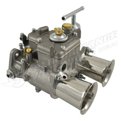 45 DCOE WEBER STYLE CARBURETTOR WITH CHROME RAM TUBES