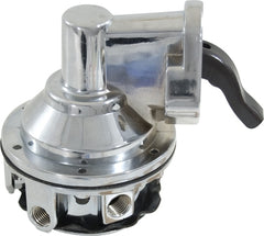 CAL CUSTOM SMALL BLOCK CHEV CHROME MECHANICAL FUEL PUMP 80 GPH
