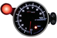 DEPO RACING TACHOMETER STEPPER MOTOR GAUGE 115MM, RACE, DRIFT, PERFORMANCE