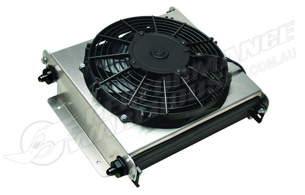 DERALE 40 ROW HYPER-COOL EXTREME REMOTE COOLER, -6AN 13870