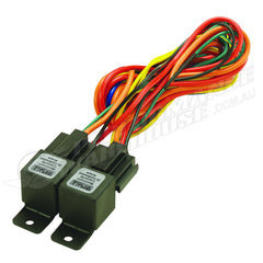 DERALE DUAL RELAY WIRE HARNESS KIT 40/60 AMP 16765