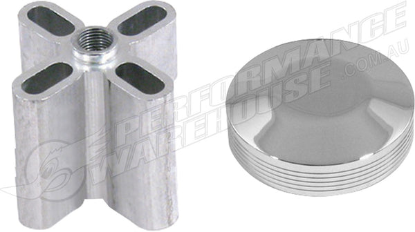 DERALE CHROME NOSE CONE KIT 2 INCH 32520