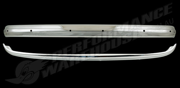 MGA MG CHROME REAR BUMPER BAR 1 PIECE BRAND NEW
