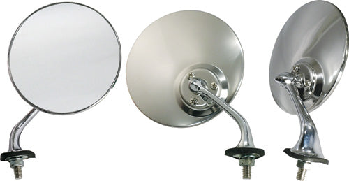 LUCAS STYLE STAINLESS STEEL RIGHT HAND WING MIRROR