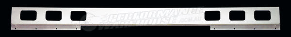 OUTLAW TRUCK CHROME ONE PIECE LIGHT BAR 94 INCH LONG RECTANGULAR CUT OUTS