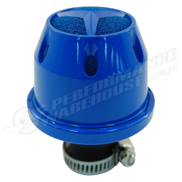 SIMOTA BLUE 9mm OIL CATCH TANK CRANKCASE VENT/VALVE BREATHER AIR FILTER