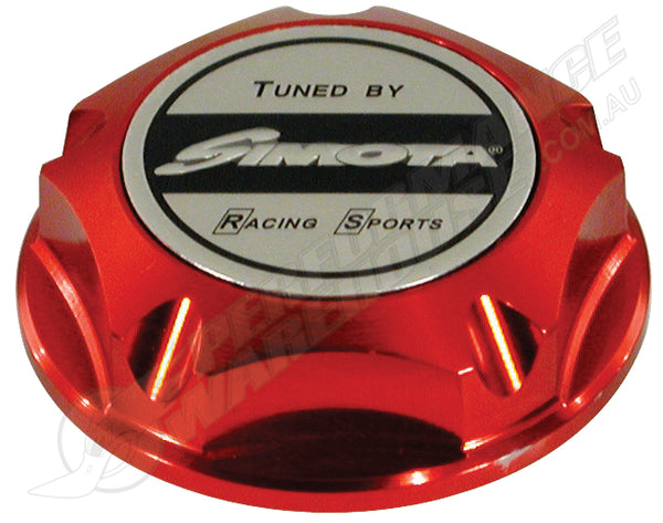 SIMOTA RACING NISSAN RED BILLET ALUMINIUM OIL CAP