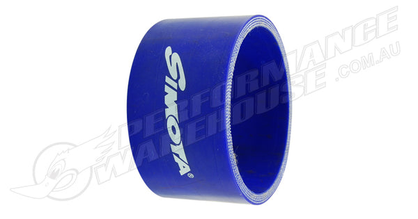 "SIMOTA BLUE SILICONE HOSE 1¾"" (45MM) STRAIGHT JOINER ELBOW 3"" (76MM) AIR INTAKE"