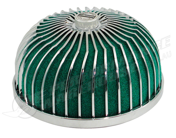 SIMOTA SUPER POWER FLOW TRUST STYLE GREEN FOAM AIR FILTER 77mm NECK