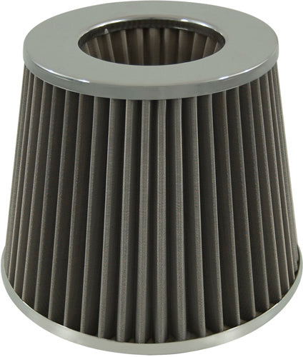 AIR FILTER CLASSIC STAINLESS N 76 W 155 H 130 STAINLESS STEEL ELEMENT