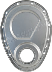 UNPLATED RAW STEEL TIMING COVER ONLY CHEV SMALL BLOCK