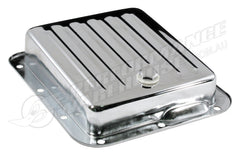 CHROME STEEL FORD C4 AUTOMATIC TRANSMISSION PAN