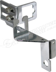 CHROME CARBURETTOR LINKAGE BRACKET SET (AUTOMATIC TRANSMISSION)