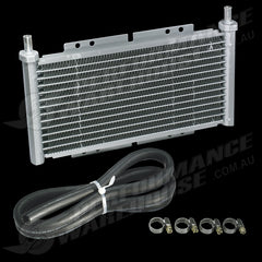 TENZO TRANSMISSION COOLER SLIMLINE STYLE 12 ROW 15MM THICK