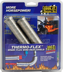 THERMO-TEC THERMO-FLEX 2 PIECE PLUG WIRE HEAT SHIELD 14300