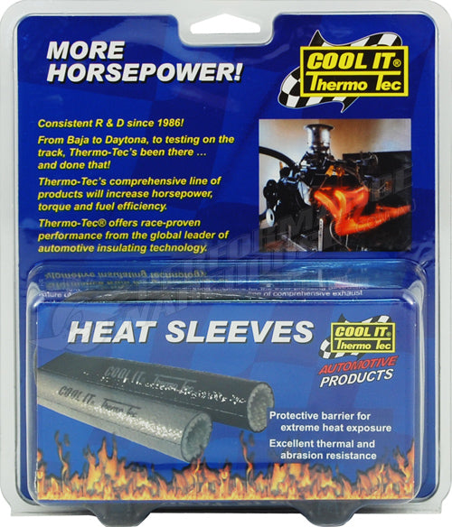 THERMO-TEC HEAT SLEEVES BLACK 1/2 INCH x 36 INCH 18050