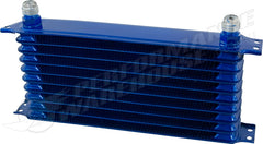 10 ROW BLUE ENGINE OIL COOLER