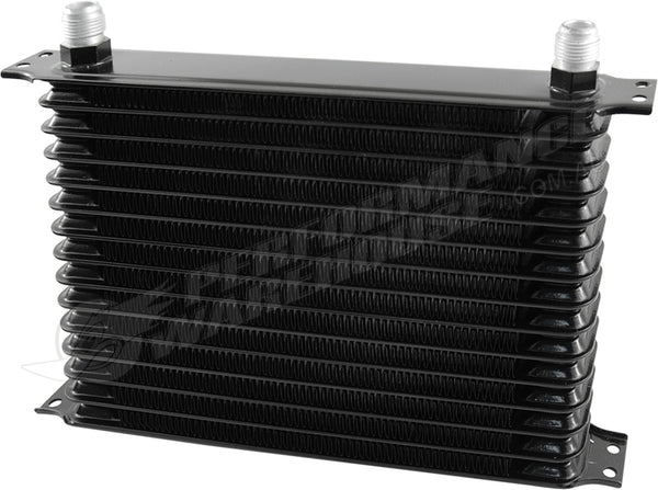 15 ROW BLACK ENGINE OIL COOLER