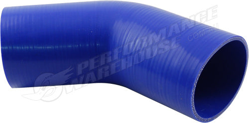 "TAKASHI BLUE SILICONE HOSE 45 DEGREE STANDARD ELBOW 3¼"" (83mm) AIR INTAKE TURBO"