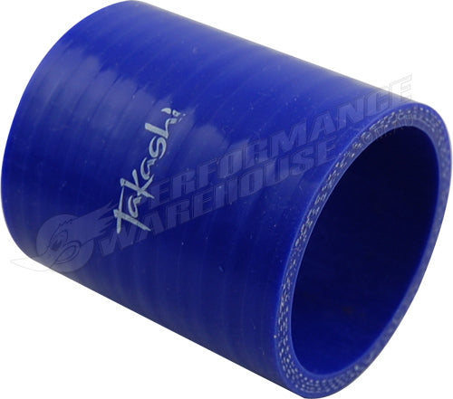 "TAKASHI BLUE STRAIGHT SILICONE HOSE JOINER 2¼"" (57mm) AIR INTAKE TURBO"