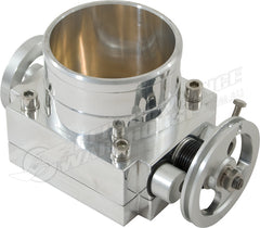 80MM BILLET ALUMINIUM THROTTLE BODY TO SUIT UNIVERSAL APPLICATION