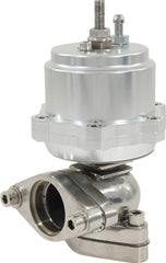 WASTEGATE 38mm PISTON SILVER AL606I TOP 304 STAINLESS STEEL BASE