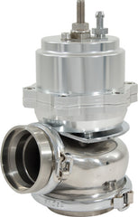 WASTEGATE 60mm PISTON SILVER AL606I TOP 304 STAINLESS STEEL BASE